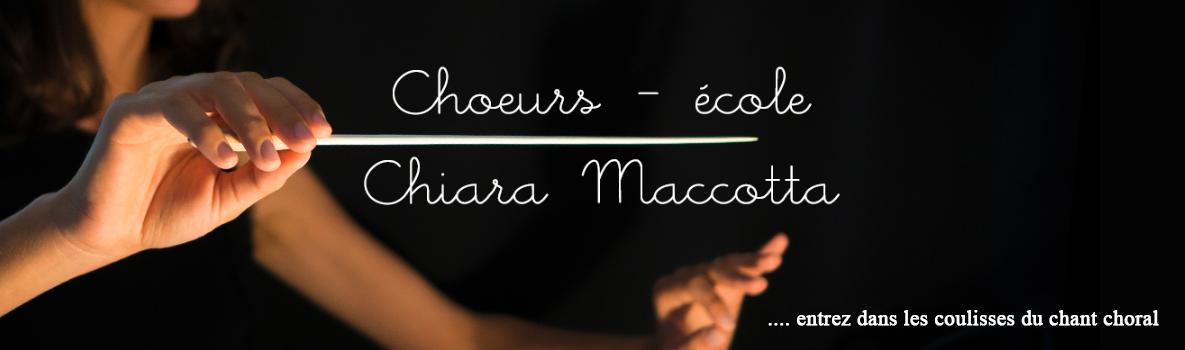 Choeurs-école Chiara Maccotta